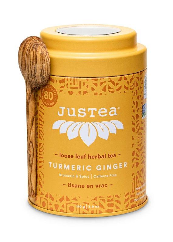 JusTea Turmeric Ginger Loose Leaf Tea