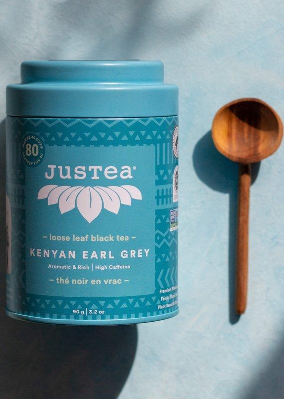JusTea Earl Grey Loose Leaf Tea