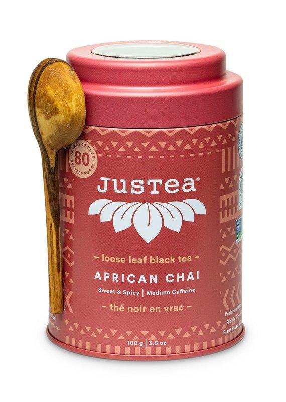 JusTea African Chai Loose Leaf Tea