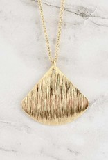 Havanna Rounded Triangle Necklace