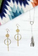 Mata Traders Olinda Brass Earrings