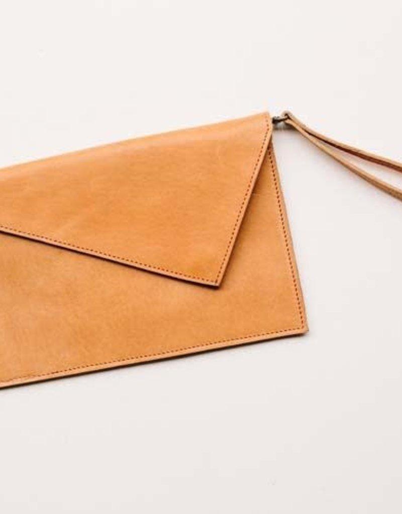 Sarah Ray Leather Clutch