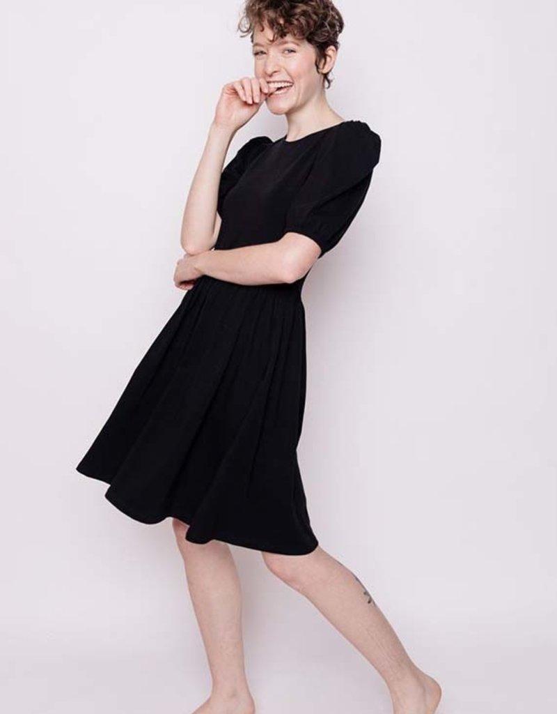 Inez Bubble Sleeve Dress
