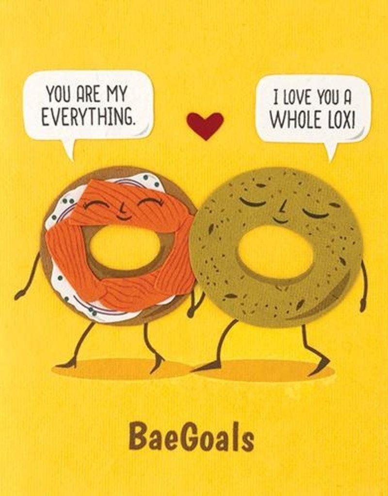 Everything Bagel Love Greeting Card