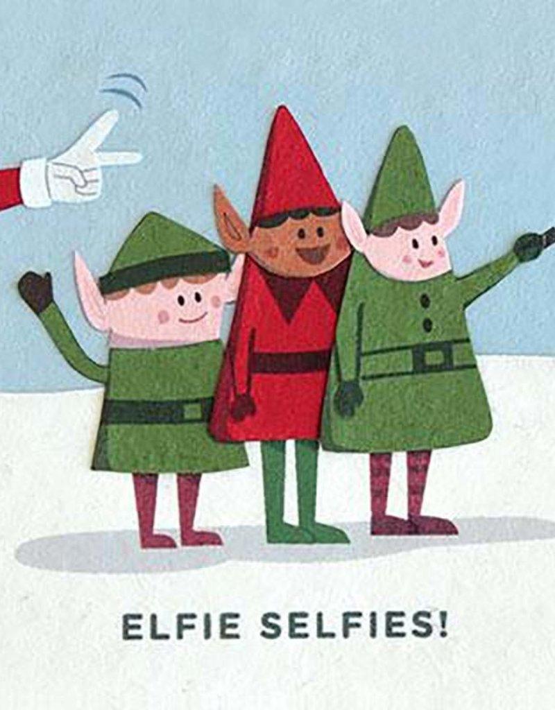Elfie Selfies Holiday Card