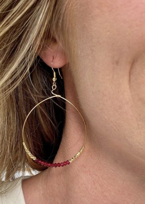Purpose Jewelry Shimmer Rosette Earrings
