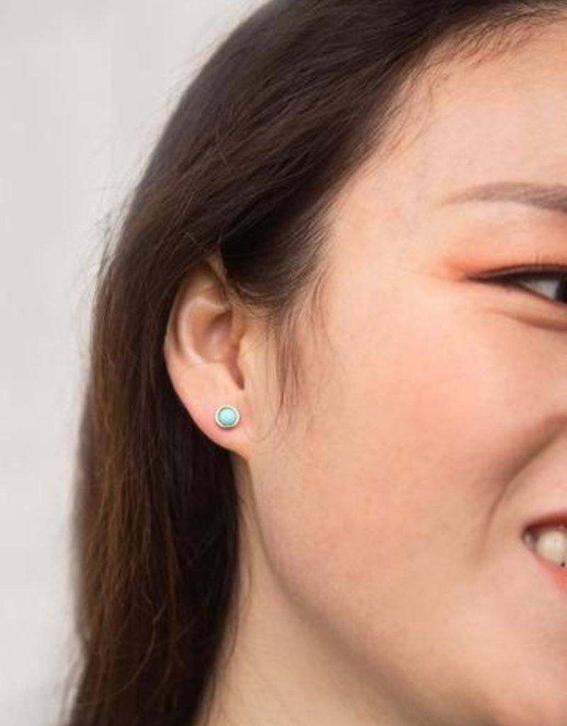 Starfish Project Kady Turquoise Stud Earrings