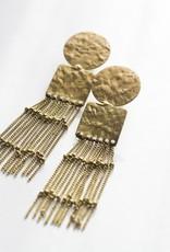 Rover & Kin Queen Fringe Earrings