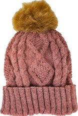 Andes Gifts Braided Pom Hat