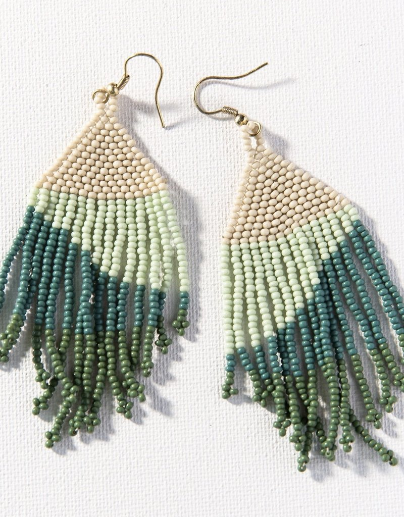 Ink & Alloy Teal Ombre Earrings