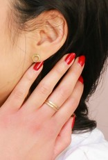 Fair Anita FAIR Orbit Stud Earrings Brass | India