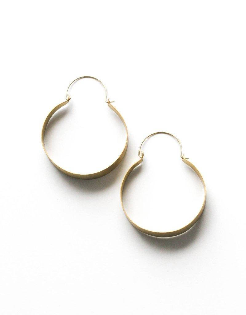 Rover & Kin RK Brassy Statement Earrings   India