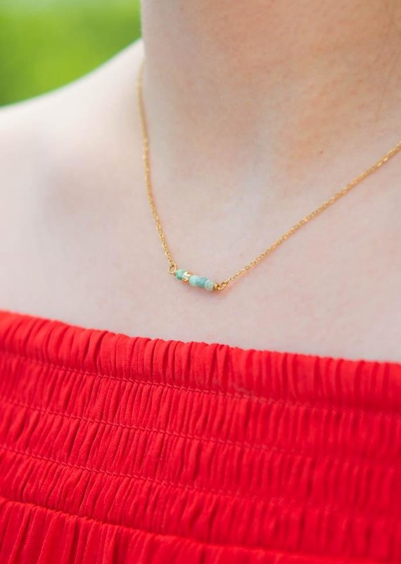 Starfish Project Reaves Turquoise Beaded Necklace