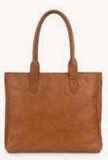 Joyn JOYN Heena Light Brown Leather Tote  | India