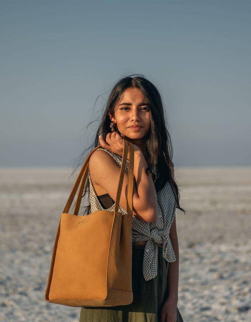 Joyn JOYN Tote Nubuck Leather Tan | India