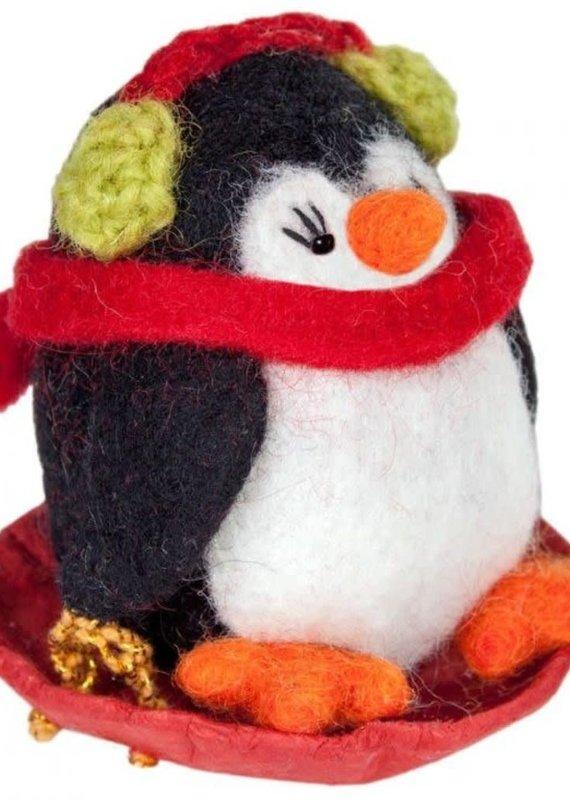 dZi Polly Penguin Ornament