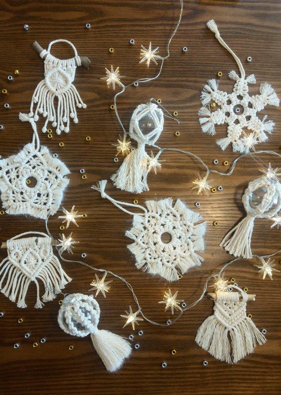 Class Make it Macrame Christmas w/The Stylish Knot