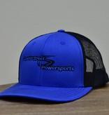 Superior Street Powersports | Trucker Snapback Baseball Hat - Blue/Black