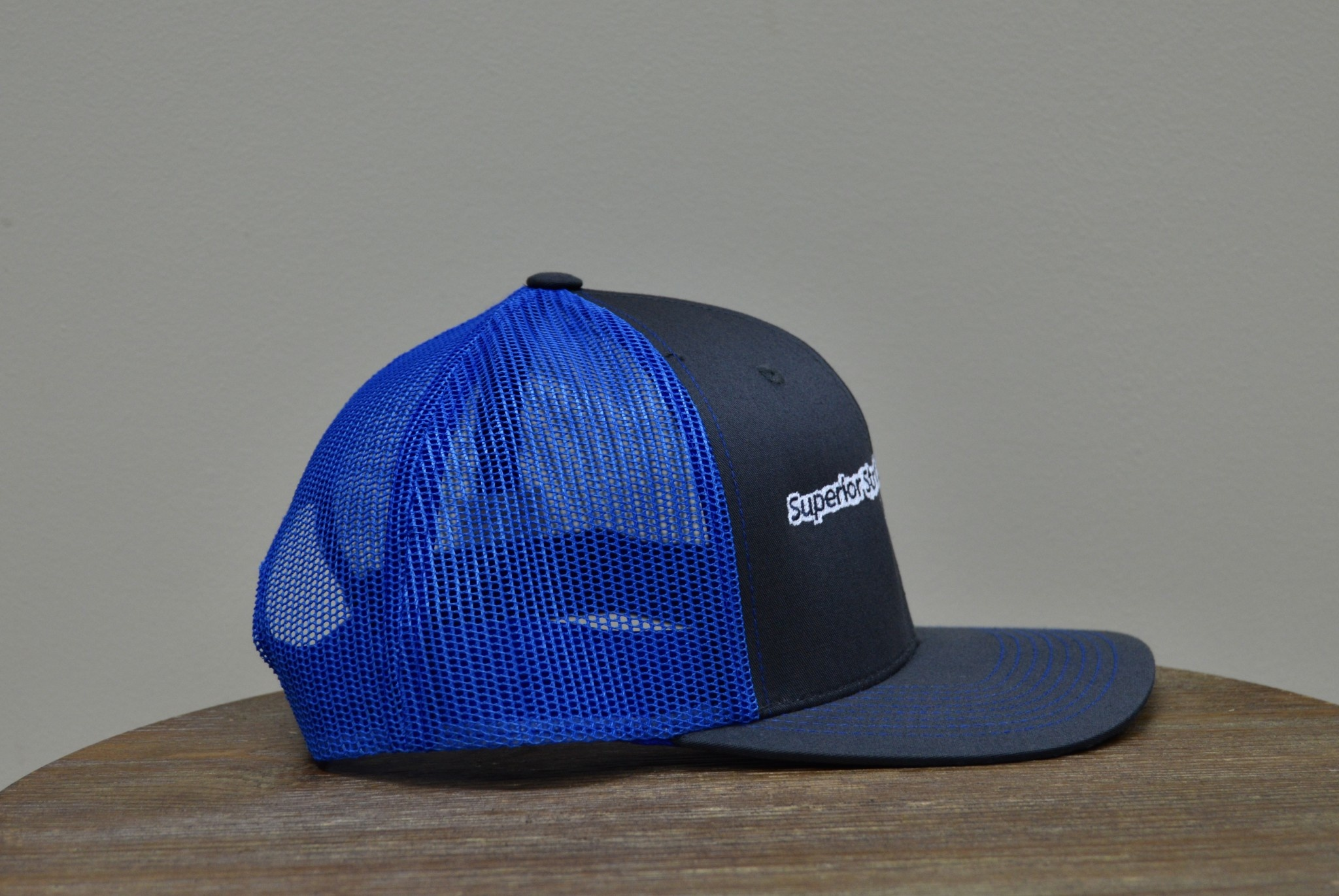 Superior Street Powersports | Trucker Snapback Baseball Hat - Grey/Blue