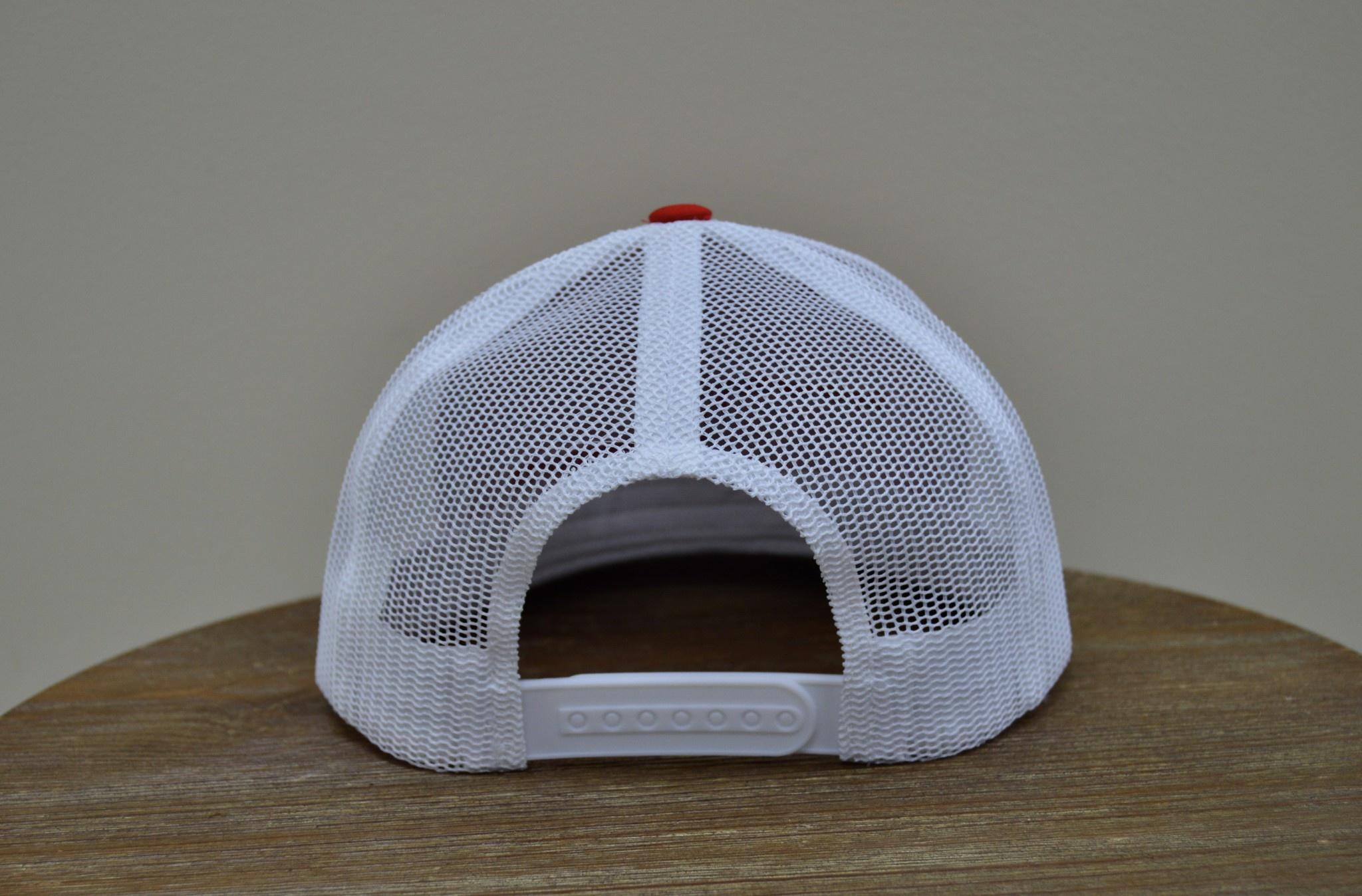 Superior Street Powersports | Trucker Snapback Baseball Hat - Red/White