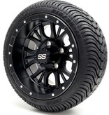 GTW Matte Black Wheel/Rims 12'' ( Sets of 4)