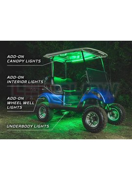 LED Glow LED Color Changing Canopy Light Kit