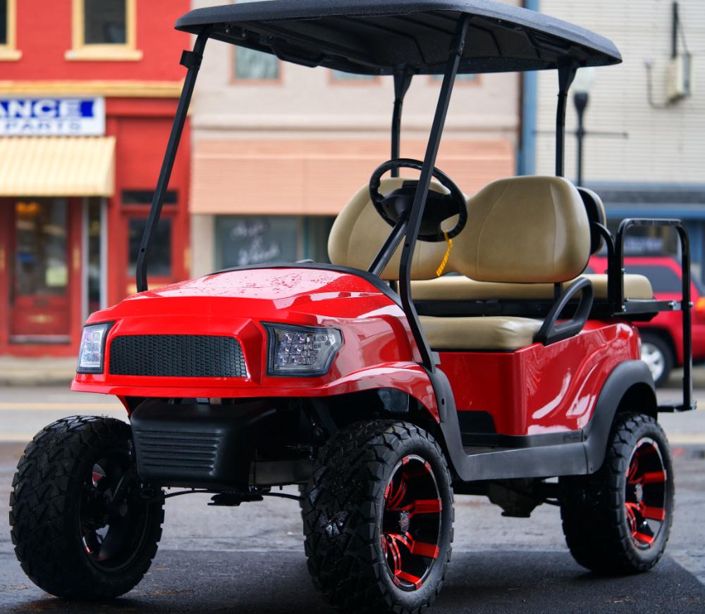 Atlantic Hills, LLC 2017 Club Car Precedent Electric (Red)
