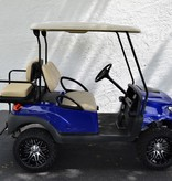 Atlantic Hills, LLC 2018 Club Car Precedent Gas (Royal Blue) Grey Diamond Stitch