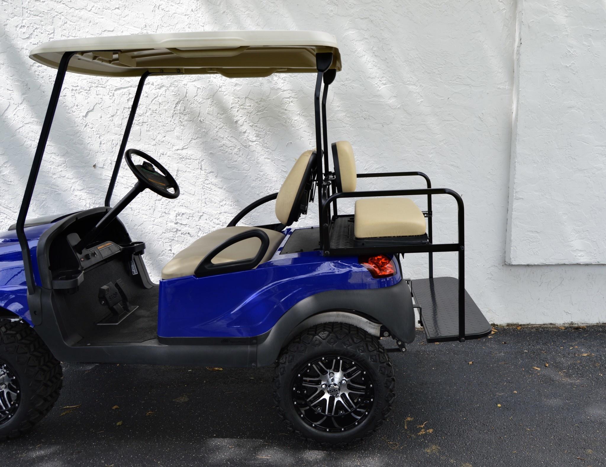 Atlantic Hills, LLC 2018 Club Car Precedent Gas (Royal Blue) White Seats
