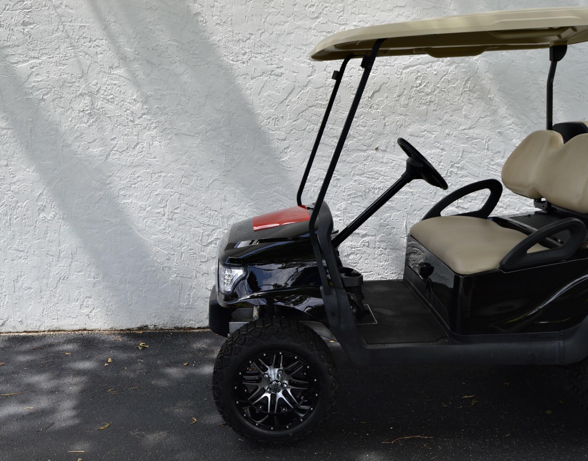 Atlantic Hills, LLC 2021 Build  Club Car Precedent  Electric (Black)