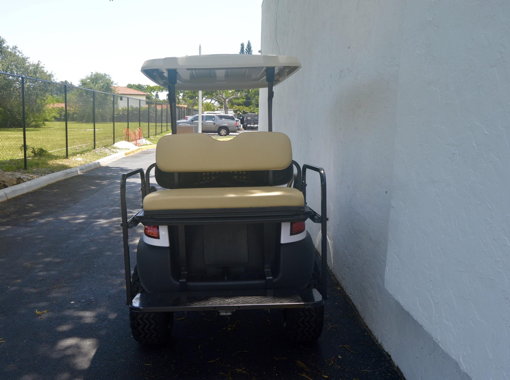 Atlantic Hills, LLC 2018 Club Car Precedent  Gas (White)