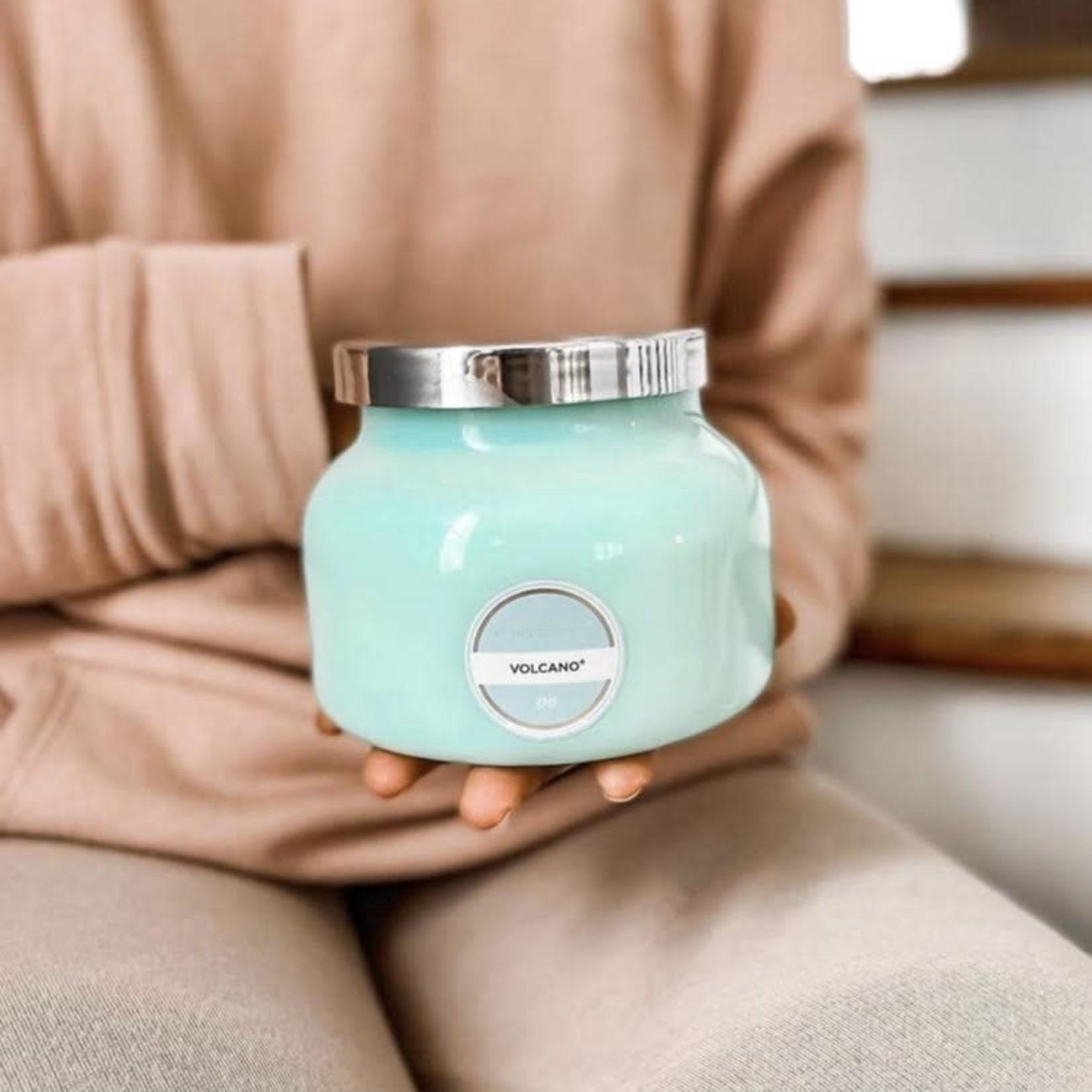 Capri blue 8 oz aqua jar