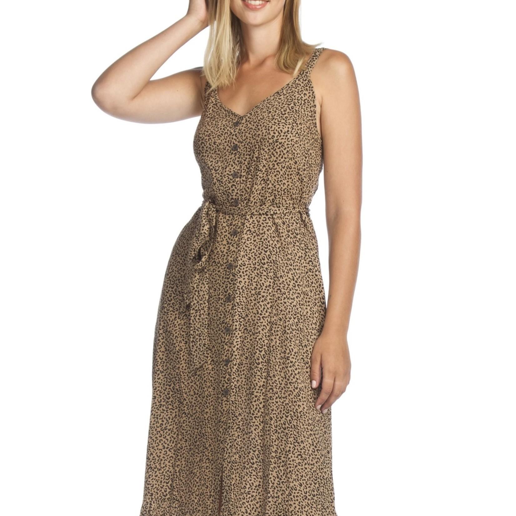 Papillon Leopard Print Dress  PD-07560