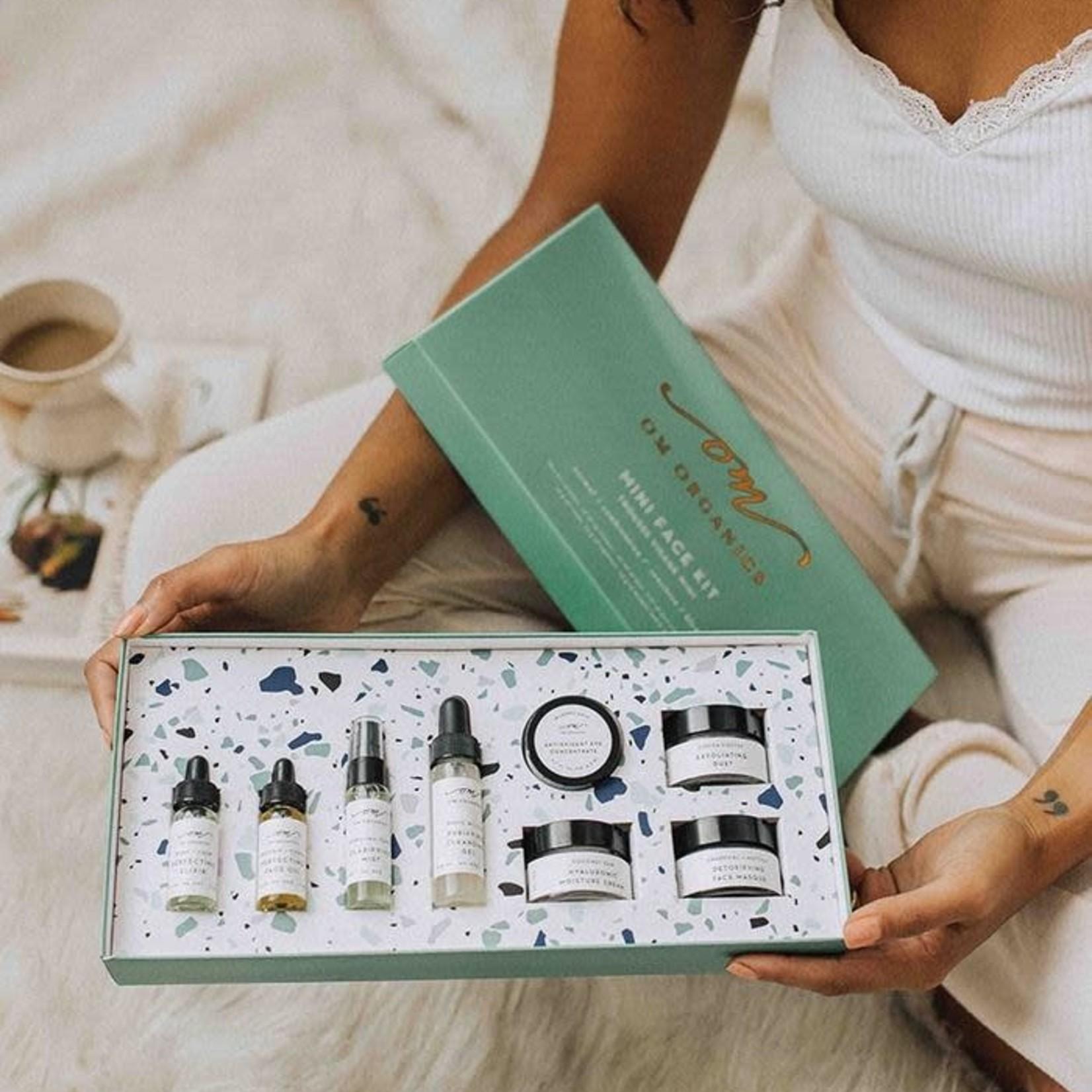 om organics mini face kit - sensitive