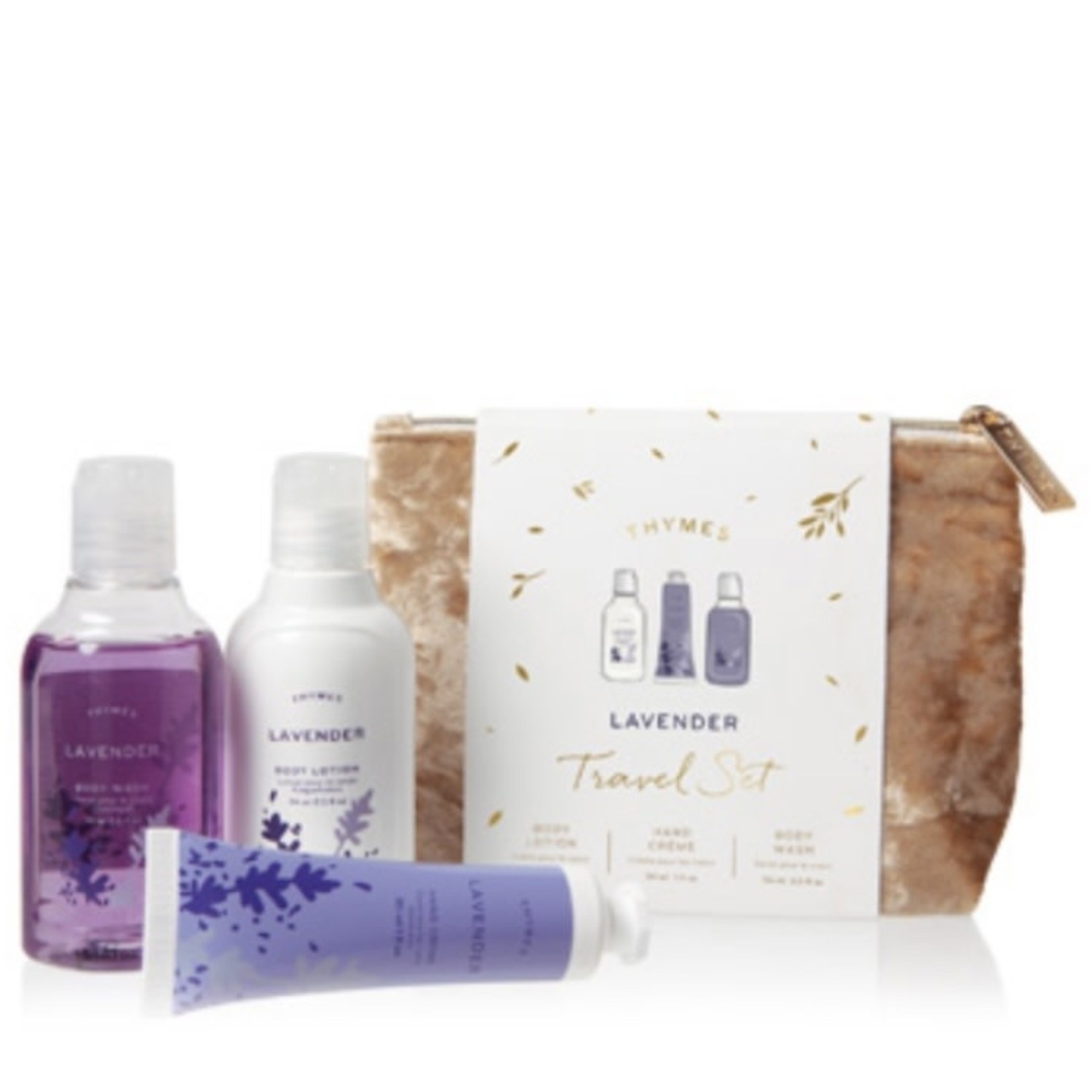 Thymes Lavender Travel Set