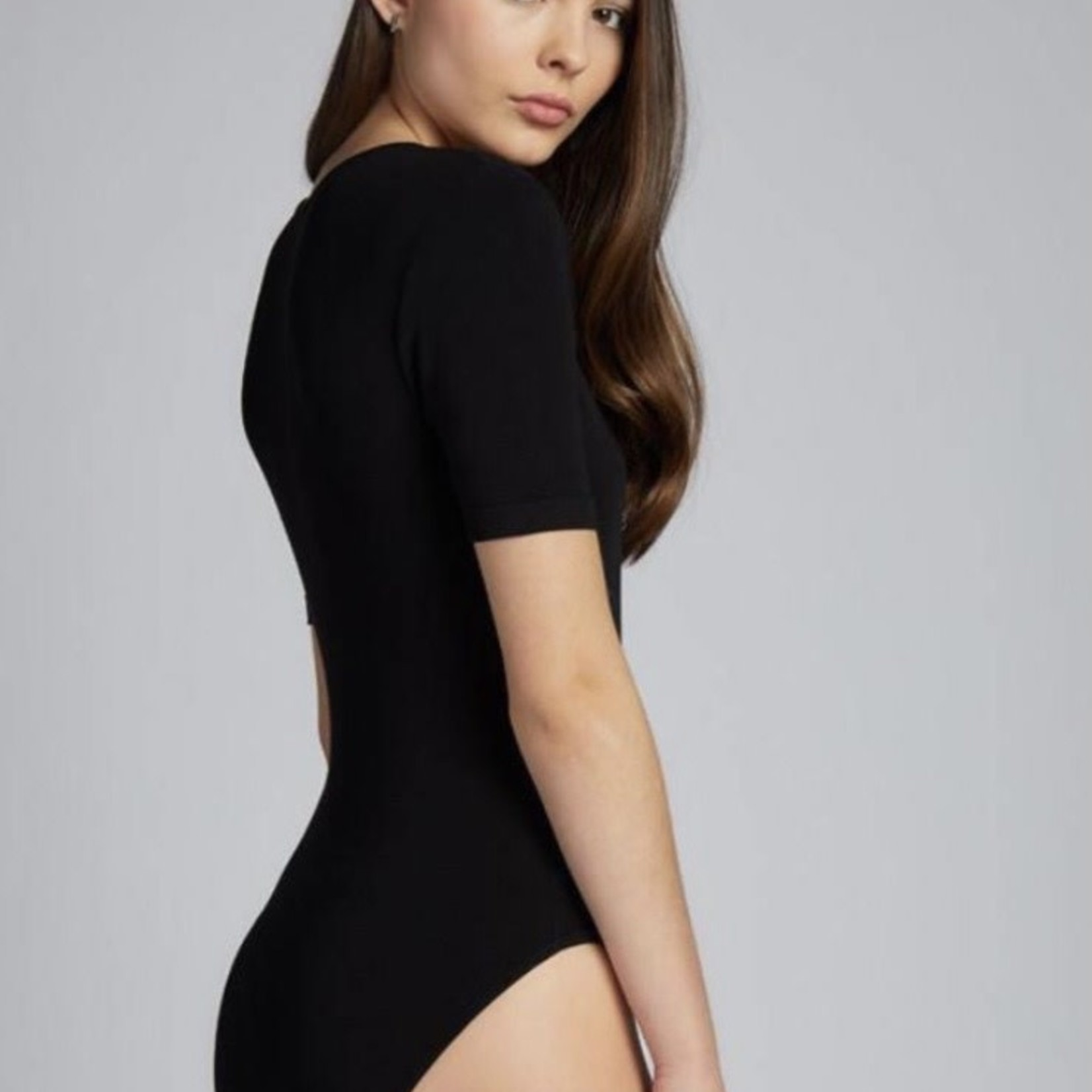 cest moi Bamboo S/Less Wrap Body Suit CEBS1203