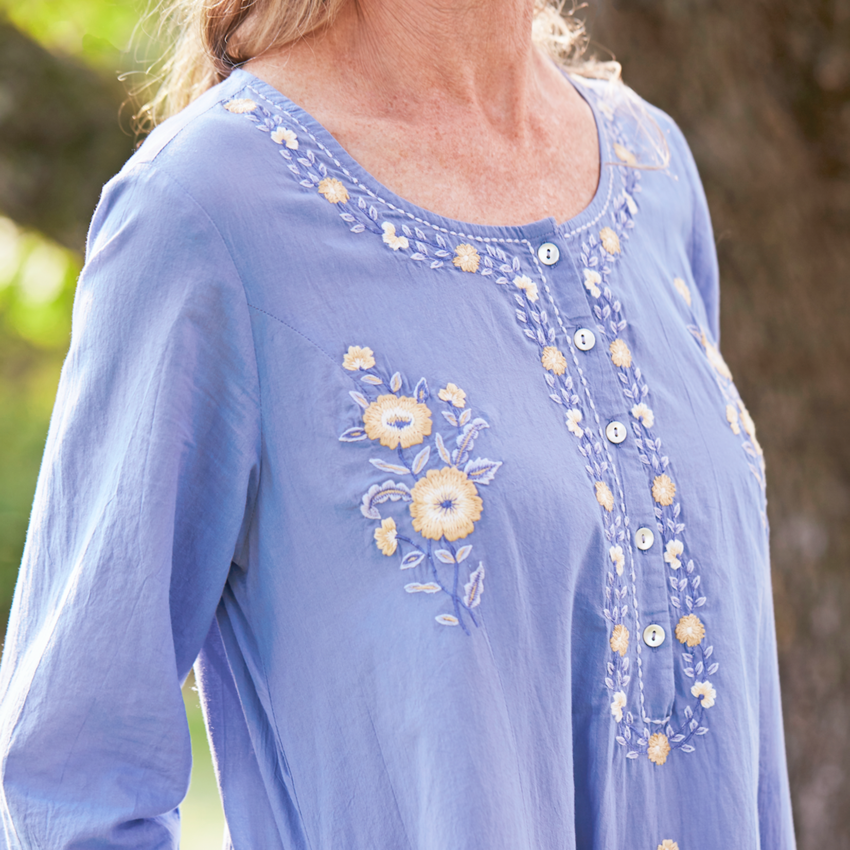 April Cornell French Morning Caftan