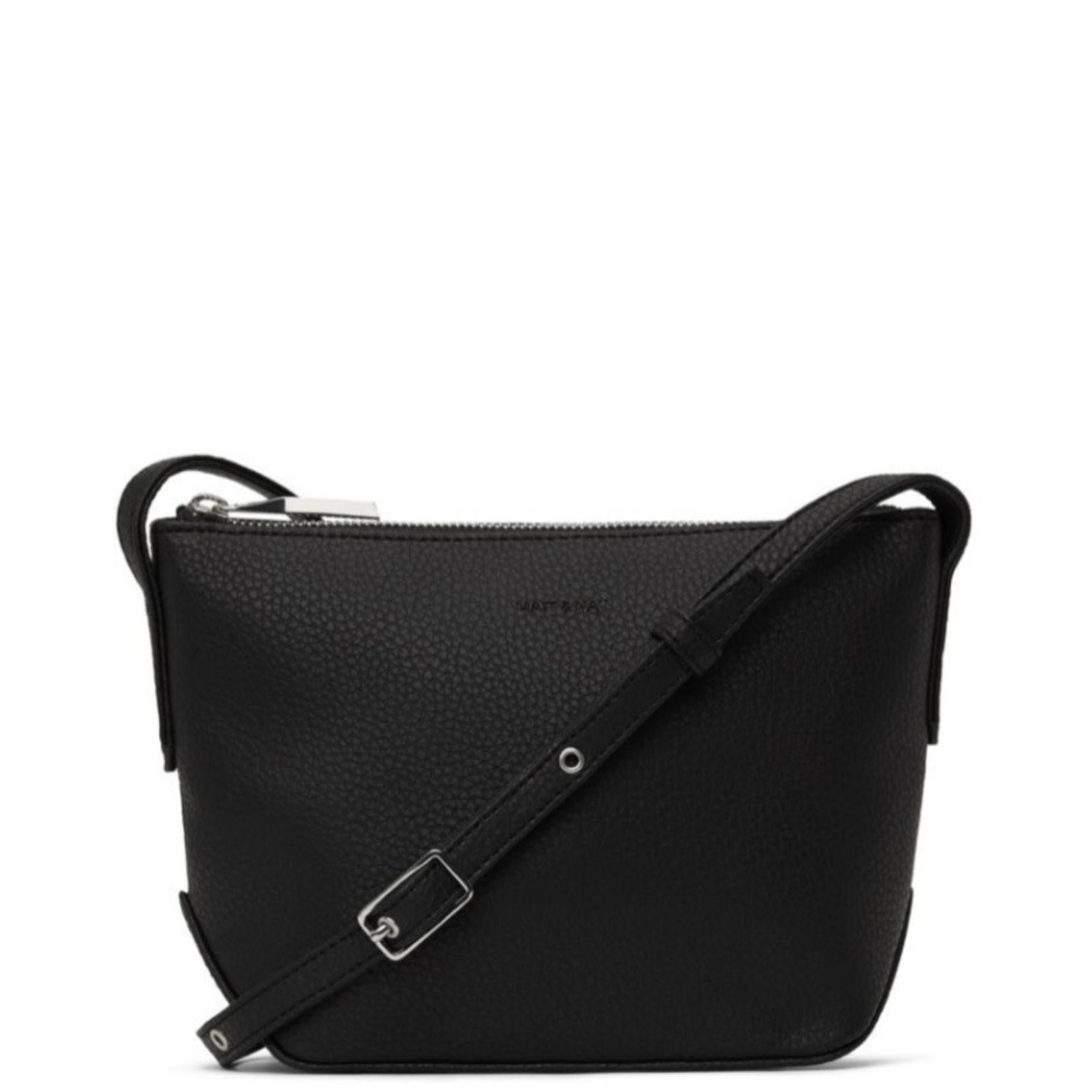 matt & nat Sam Purity Crossbody Bag Black