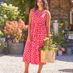 April Cornell Daisy Prairie Dress