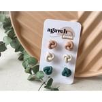 agaveh girl Spring Knot Trio