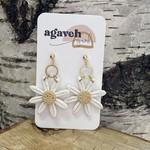 agaveh girl Daisy Earring