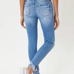 Kancan Nala Mid Rise Ankle Skinny Jeans