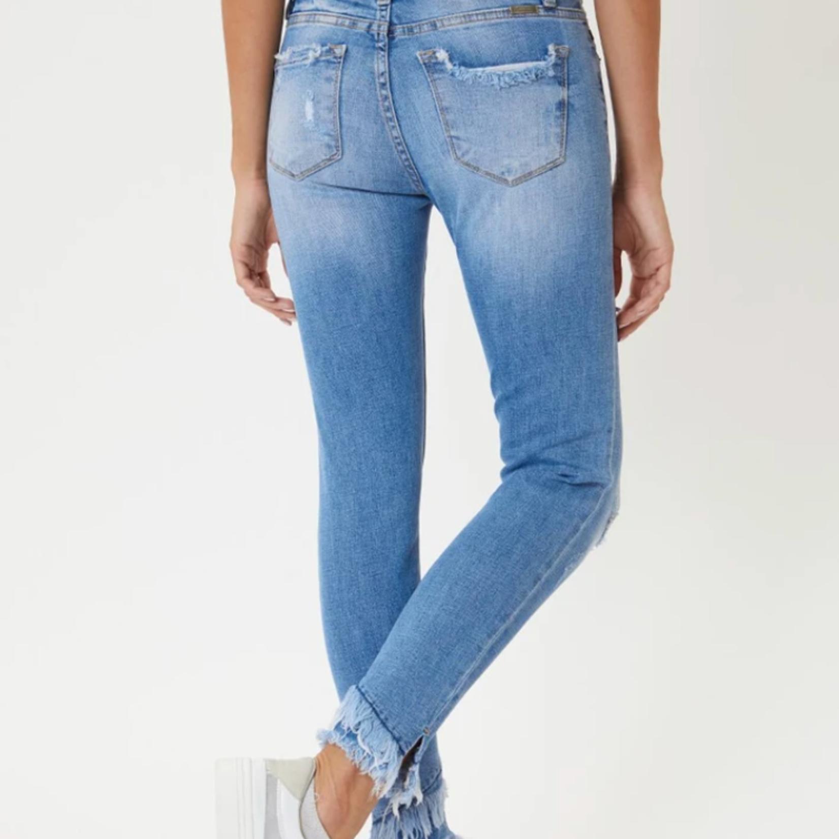 Kancan Nala Mid Rise Ankle Skinny Jeans KC6204M