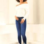 Kancan Reese High Rise Super Skinny Jeans
