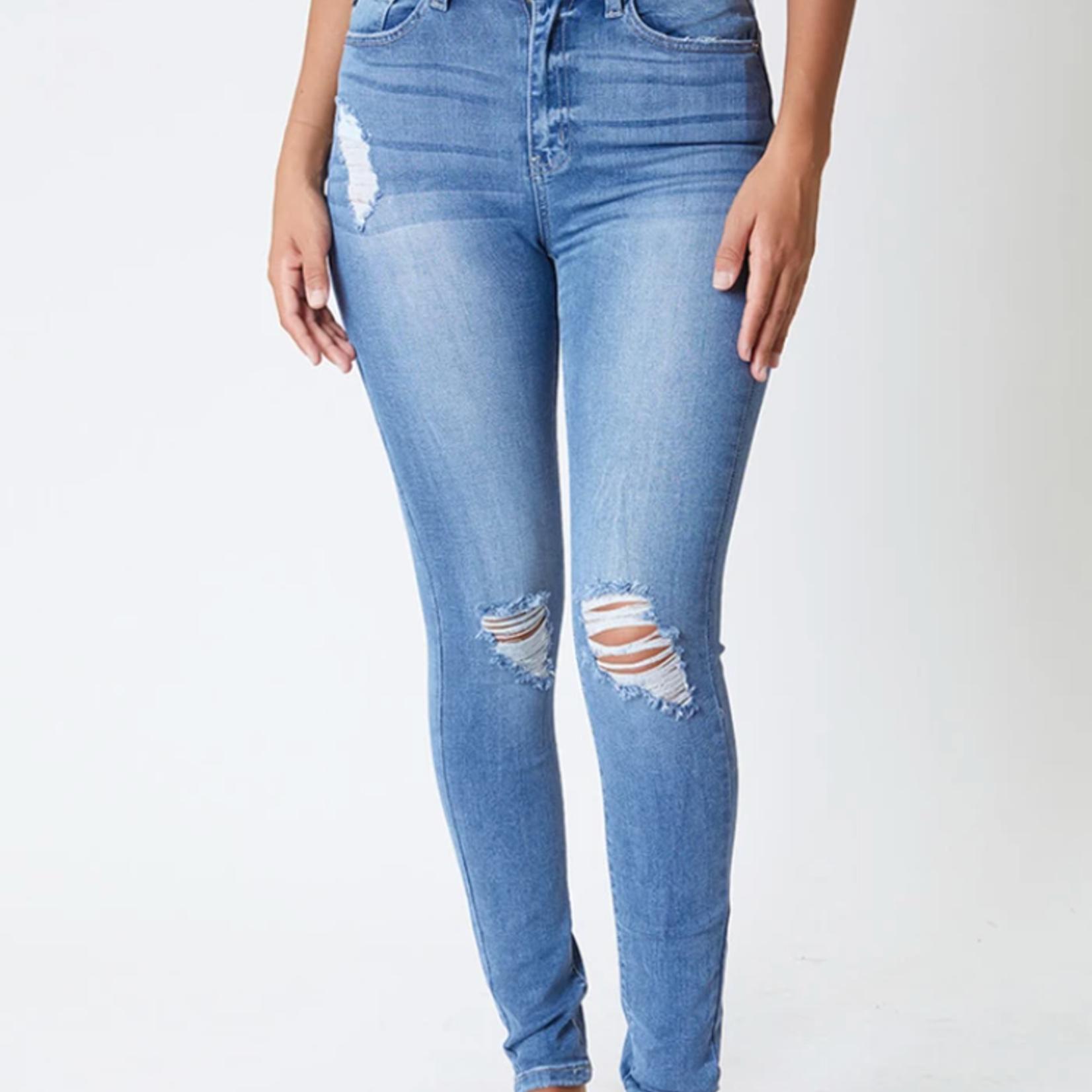 Kancan Bradynn High Rise Super Skinny Jeans KC6223M