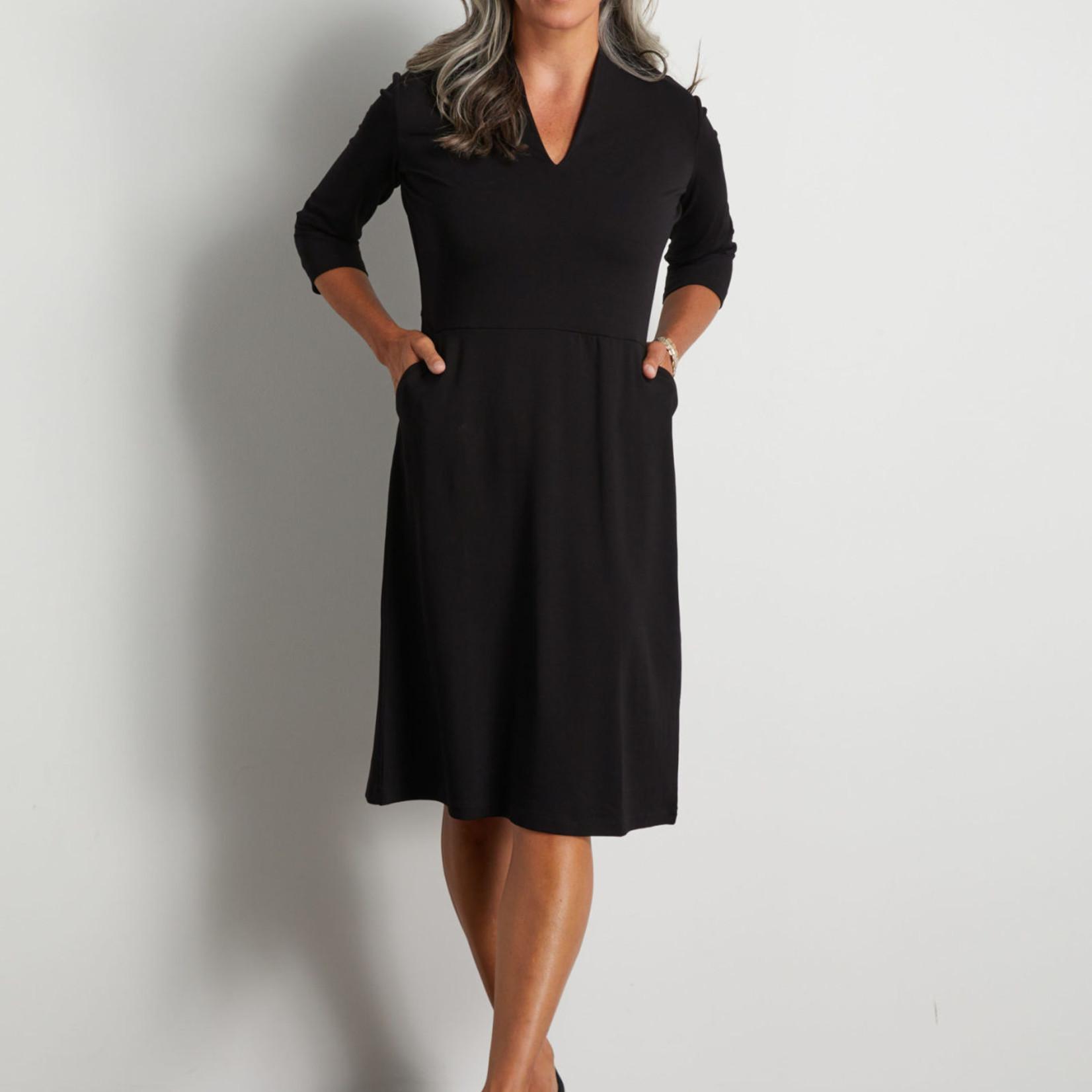 habitat Solid V Neck Pocket Dress H559891D