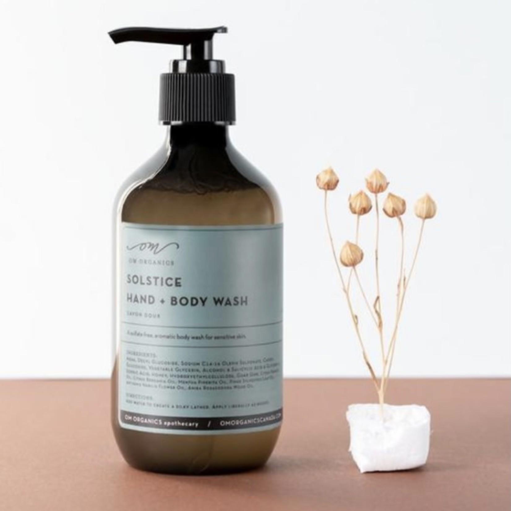 om organics solstice hand & body wash
