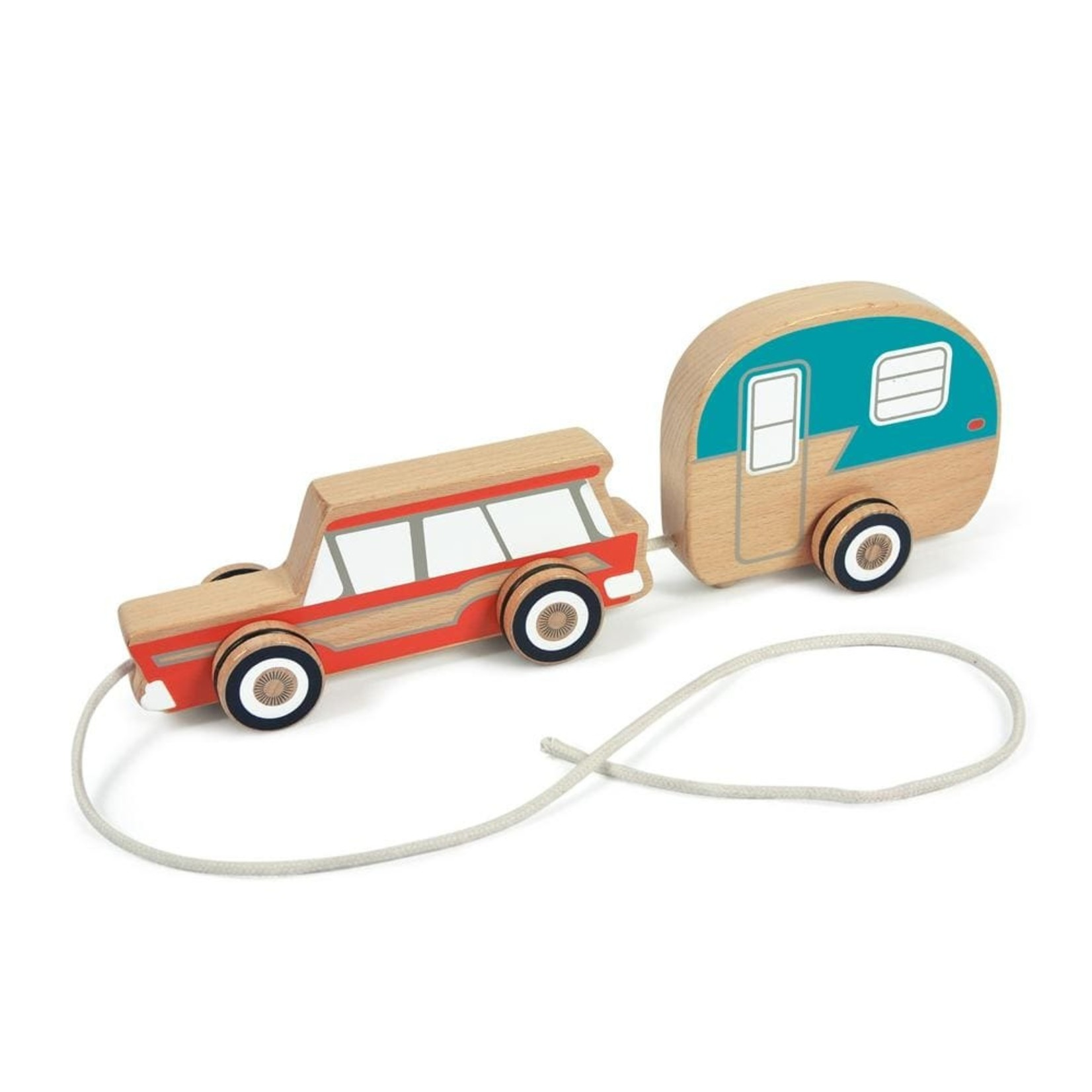 Fred Road trip wood pull toy