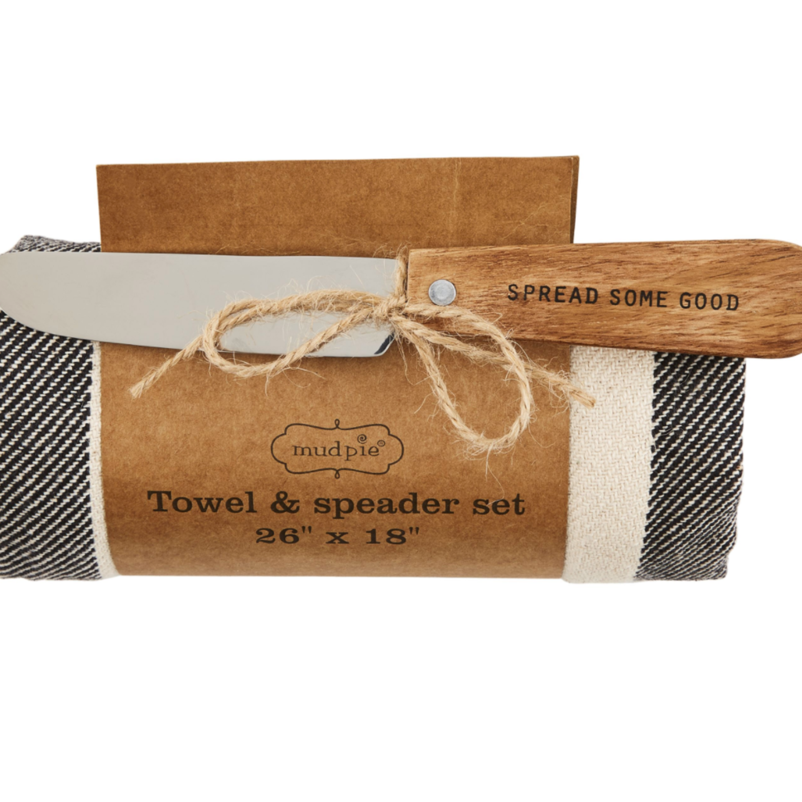 mud pie Towel and Spreader Set