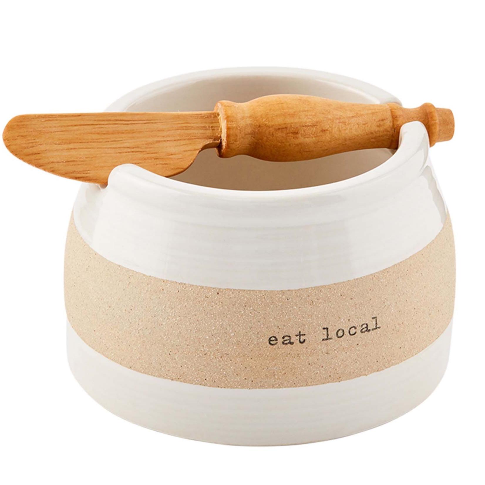 mud pie Stoneware Dip Bowl Set